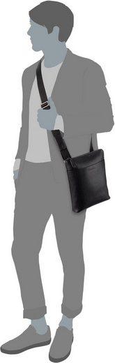Klein Calvin »essential Leather Crossover« Ipad Umhängetasche OnFqdnvg8