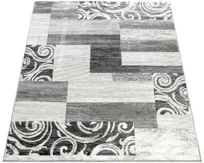 Teppich »Sinai 053«, Paco Home, rechteckig, Höhe 9 mm, karierter Kurzflor mit Ornamenten, Wohnzimmer