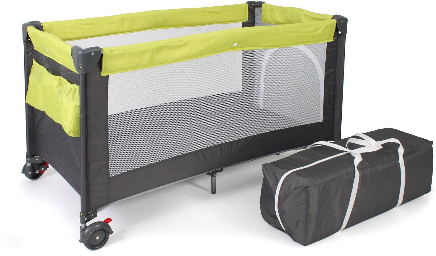 Babybetten - CHIC4BABY Baby Reisebett »Luxus, lemongreen«  - Onlineshop OTTO