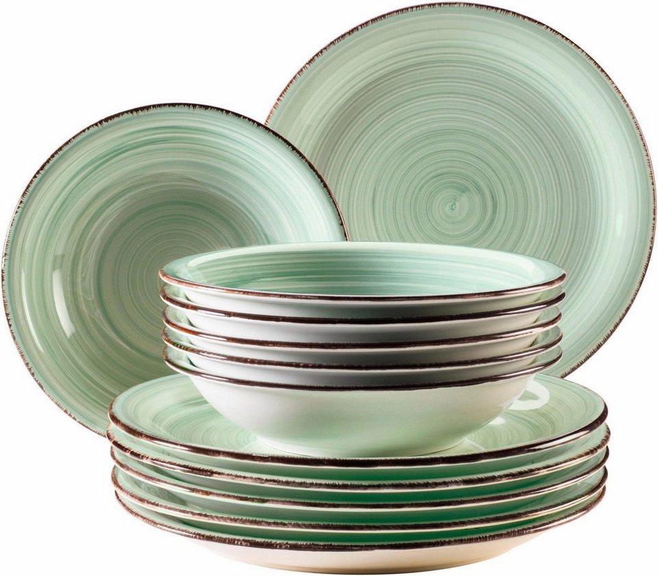 Tafelservice »Bel Tempo« (12-tlg), Keramik kaufen   OTTO