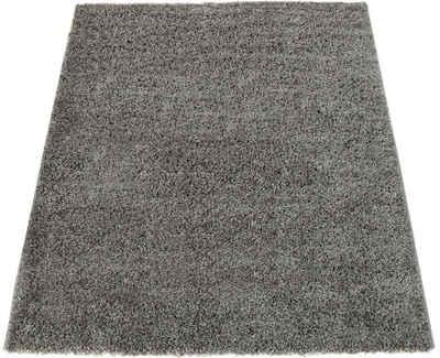 Hochflor-Teppich »Sky 250«, Paco Home, rechteckig, Höhe 35 mm, intensive Farbbrillanz, Wohnzimmer