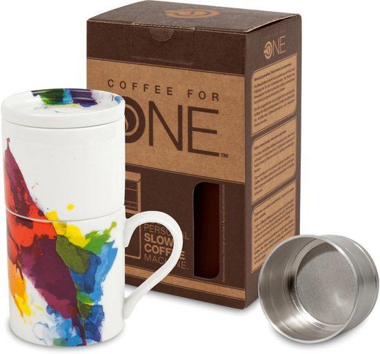 Könitz Kaffeebereiter One colour Flow, 0,33l Kaffeekanne, Coffee for one