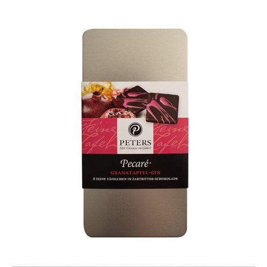 Peters Peters Pecaré Granatapfel-Gin Schokotäfelchen