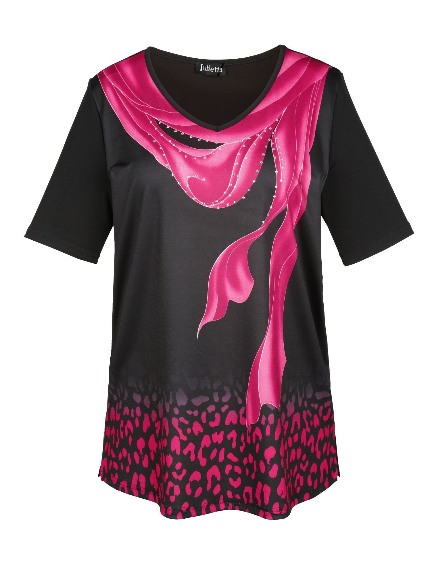 m. collection Shirt vorne bedruckt