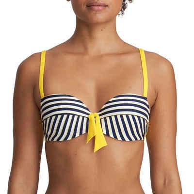 Marie Jo Balconette-Bikini-Top »Manuela Balconette Bikini Top mit Schale«, Gepolsterte Cups, Angenehm auf der Haut, Verstellbare Träger