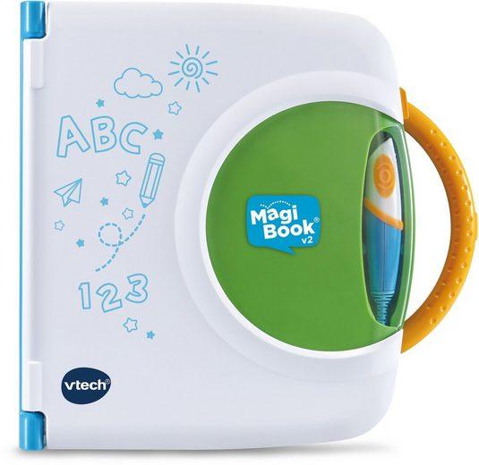 Vtech® Kindercomputer »Interaktives Lernbuchsystem, MagiBook v2«, mit 2 Lernbüchern