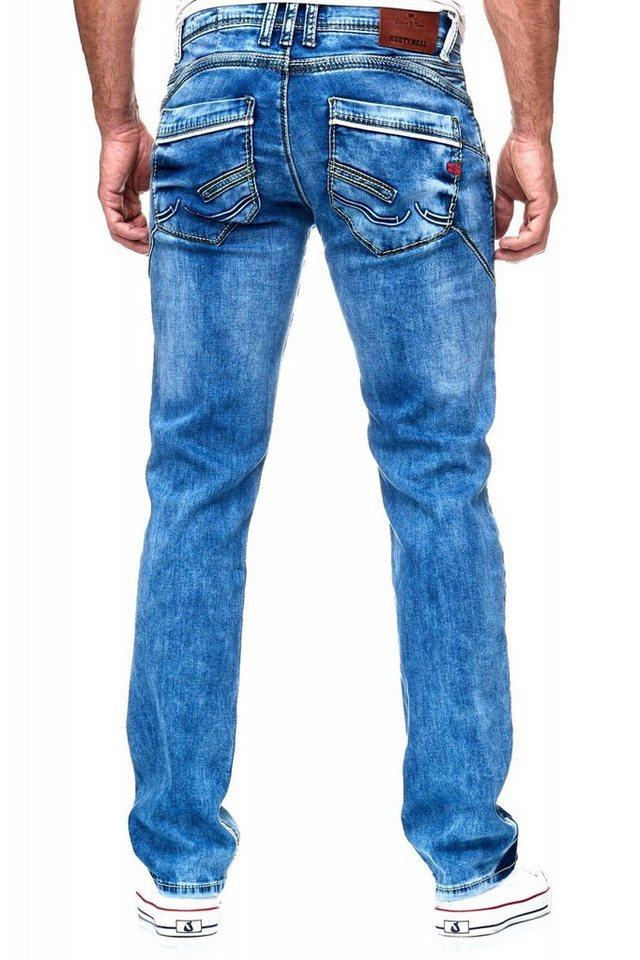 neue auswahl viel rabatt genießen Einkaufen Rusty Neal Jeanshose in coolem Design kaufen | OTTO