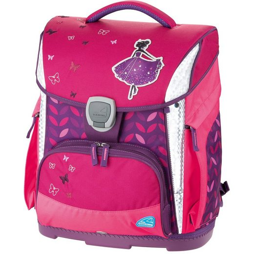 Schneiders Schulranzenset TOOLBAG PLUS Princess, 4-tlg. (Kollektion 201