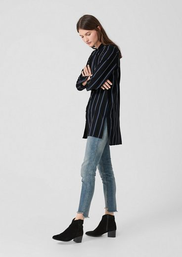 By Stripes Q Longbluse Black s Gestreifte Designed sQdxrtCh