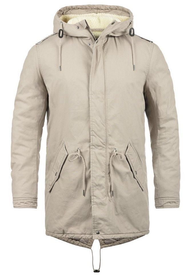 Solid Winterjacke »Darnell« warme Jacke lang geschnitten online ... d4362af2a6