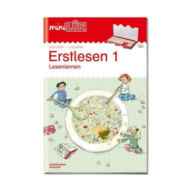 Westermann Verlag mini LÜK: Erstlesen 1, Übungsheft