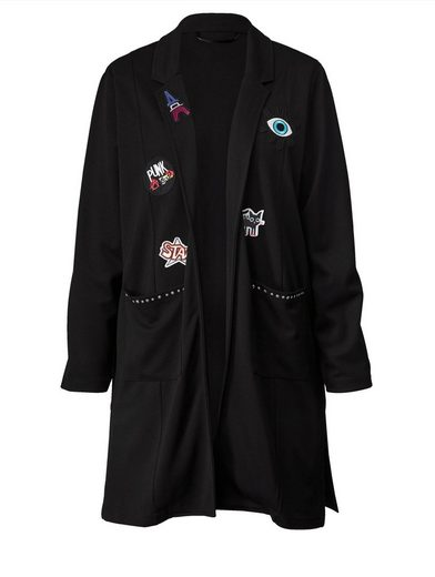 Angel of Style by Happy Size Longblazer mit Patches