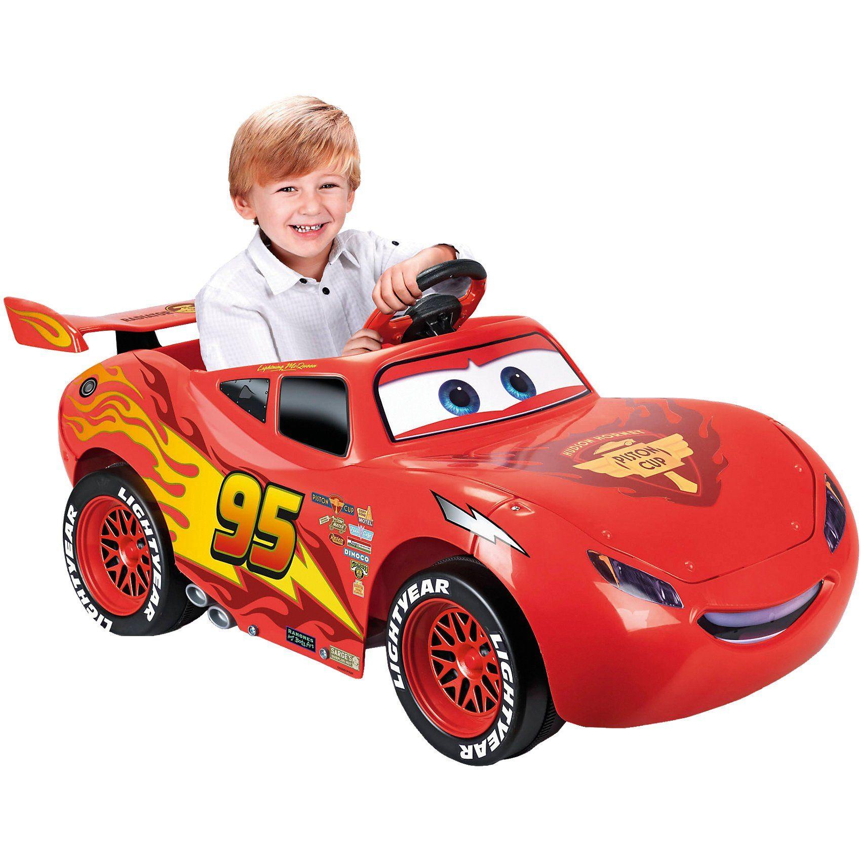 Feber® Lightning McQueen Disney Cars 6V 3.Film