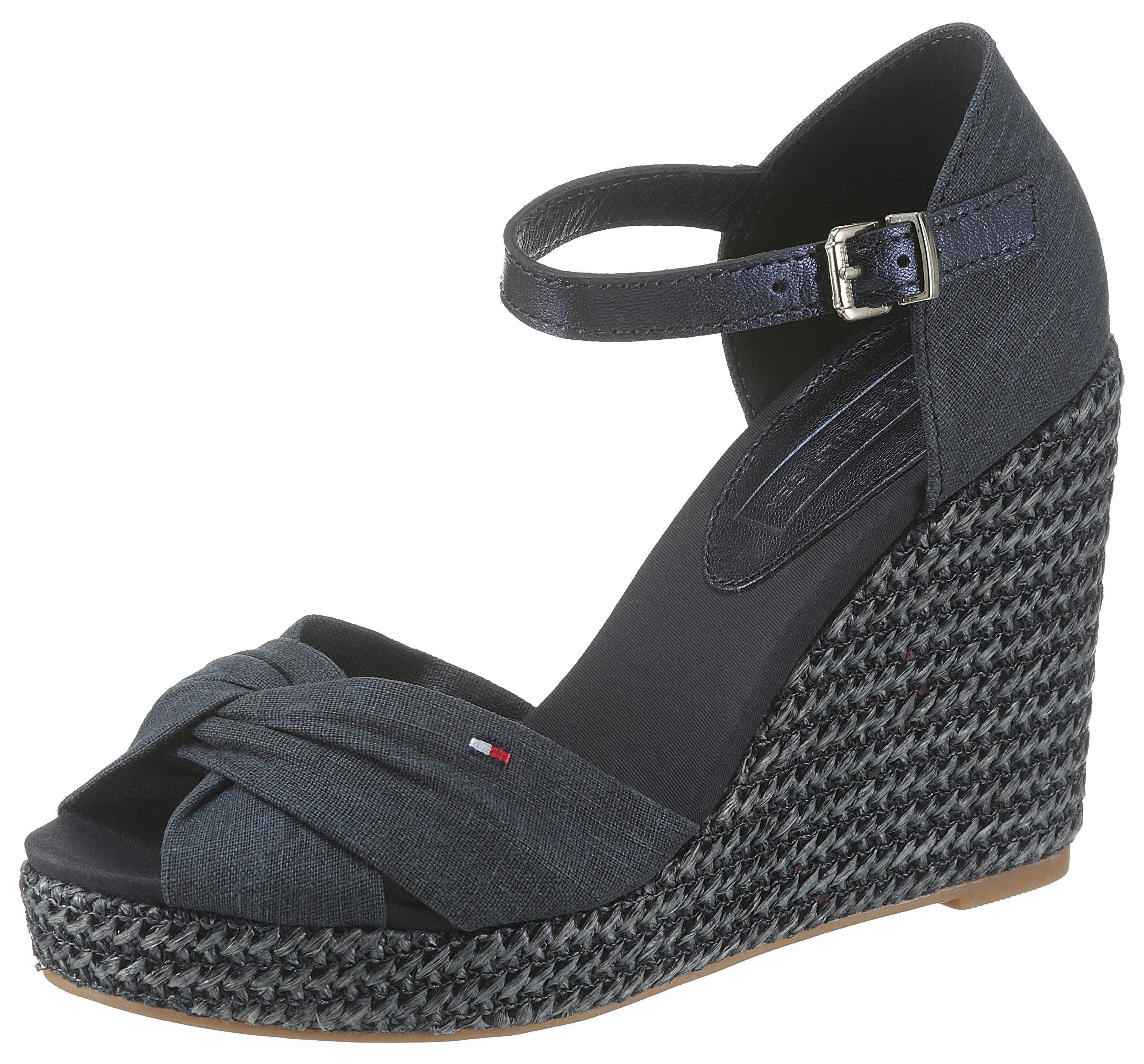 TOMMY HILFIGER »Elena 56« Sandalette mit schöner Logostickerei online kaufen | OTTO