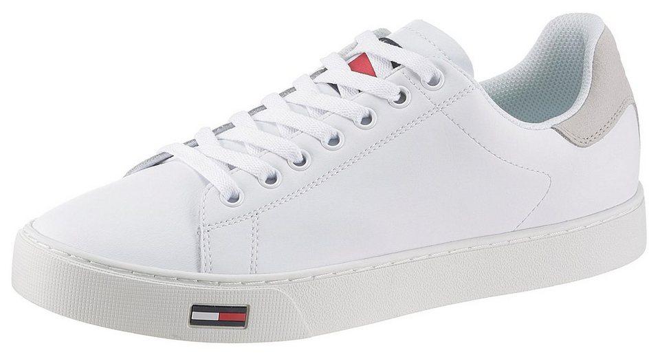 1b8f20ecc63496 TOMMY JEANS »Alan« Sneaker mit Logoapplikation auf der Zunge online ...