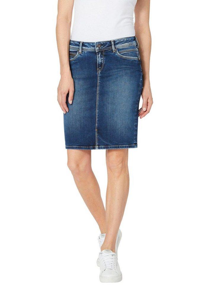 low priced 12825 b1fdf Pepe Jeans Jeansrock »TAYLOR« mit Reißverschluss-Tasche online kaufen | OTTO