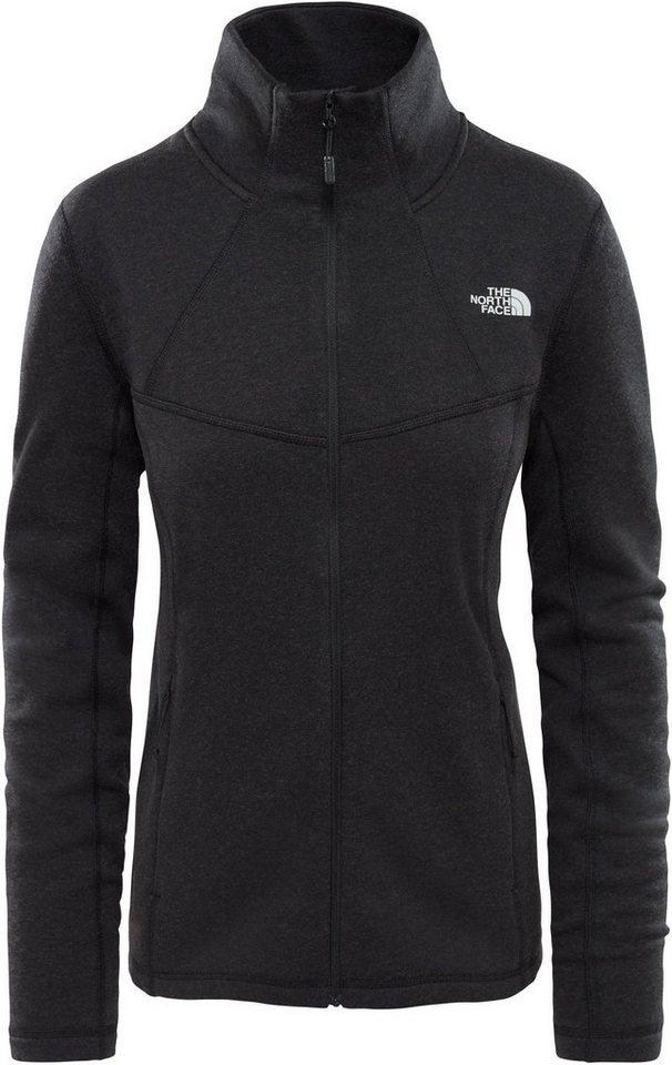 The North Face Outdoorjacke »Inlux Wool Full Zip Jacket Women« | Sportbekleidung > Sportjacken > Outdoorjacken | Schwarz | Wolle - Elasthan | The North Face