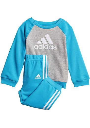 adidas Performance Jogginganzug »LOGO JOGGER FRENCH TERRY« (Set, 2-tlg)