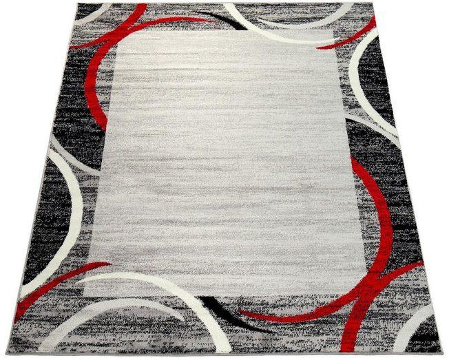 Teppich »Sinai 059«, Paco Home, rechteckig, Höhe 13 mm, moderner Kurzflor mit Bordüre