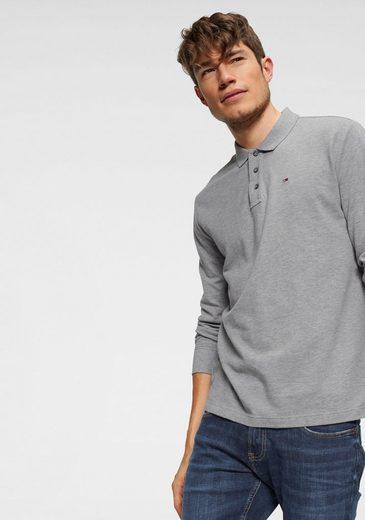 TOMMY JEANS Langarm-Poloshirt »TJM ESSENTIAL LS POLO«