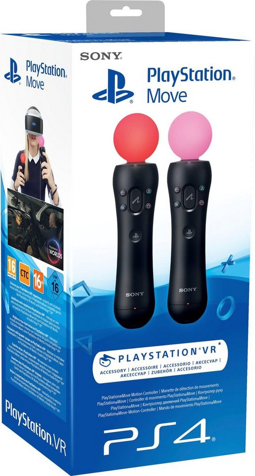 playstation 4 move motion twin pack controller otto. Black Bedroom Furniture Sets. Home Design Ideas