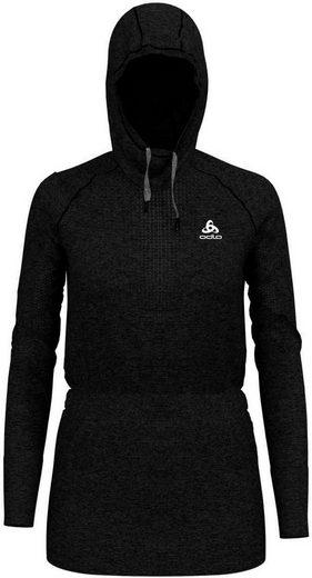 Warm Midlayer Grey« Odlo Sweatshirt »irbis Hoody Schwarz Women BlackSteel lFKc1J