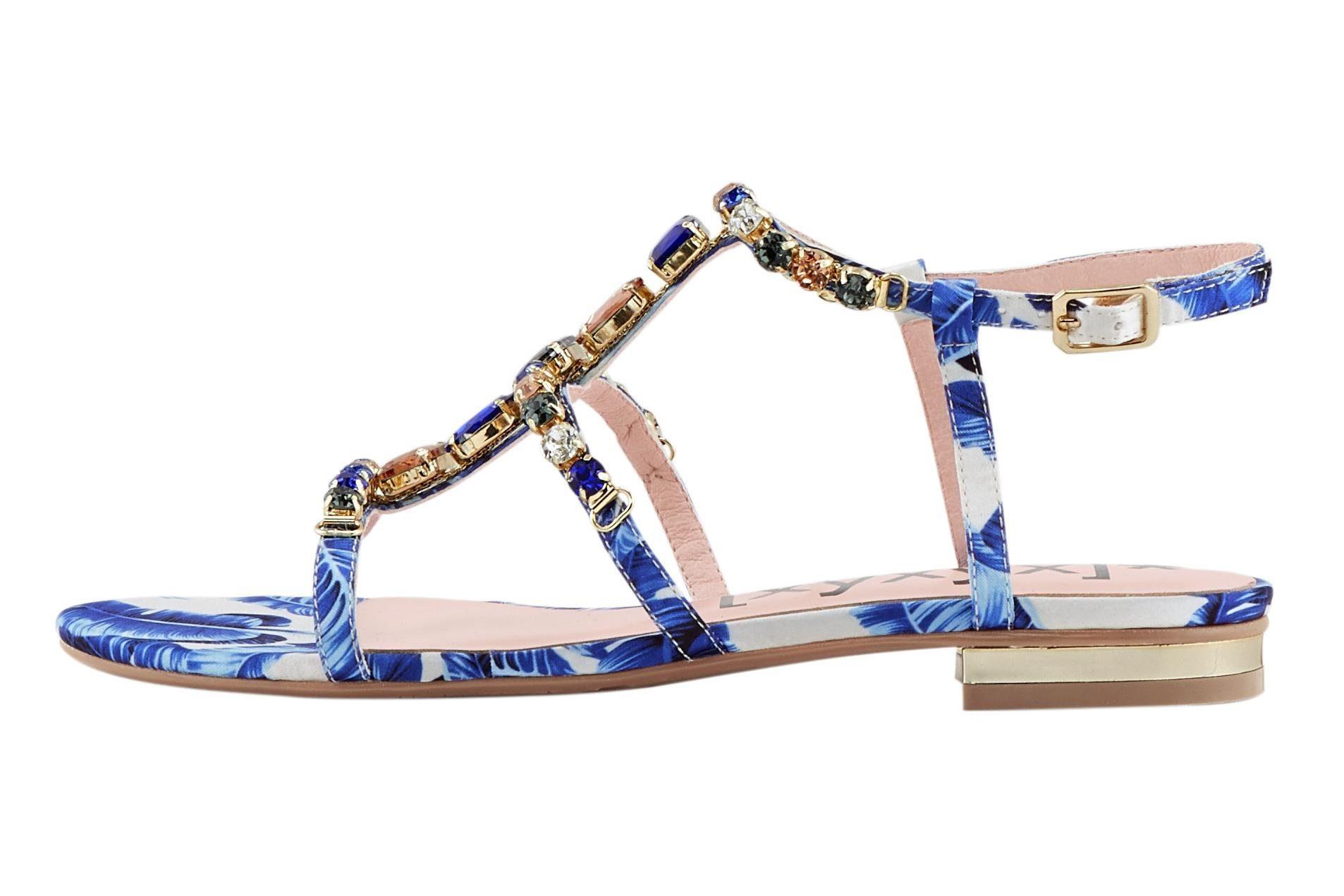 Kaufen Xyxyx Schmucksteinen Miit Online Sandalette lJcTFK1