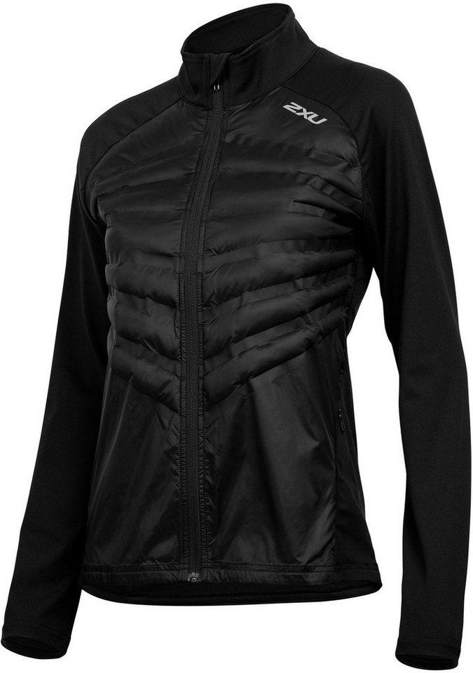 2xU Trainingsjacke »Heat Half Puffer Jacket Women« | Sportbekleidung > Sportjacken > Trainingsjacken | Schwarz | 2xU