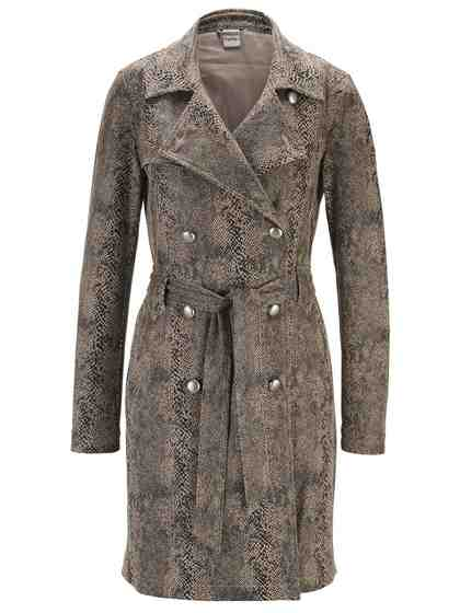 heine TIMELESS Trenchcoat im Animalprint