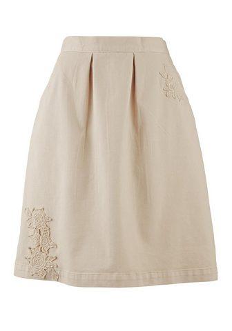 CASUAL юбка джинсовая с аппликация