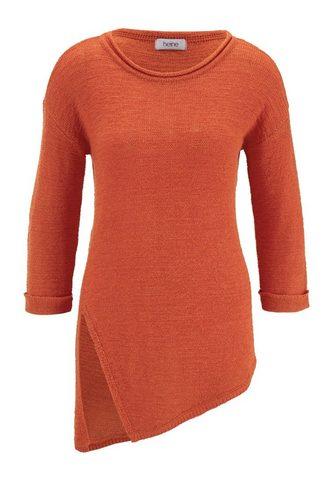 CASUAL пуловер с высокий Seitenschlitz...