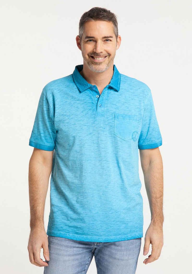 Pioneer Authentic Jeans Poloshirt »Polo-Shirt Slub-Jersey«