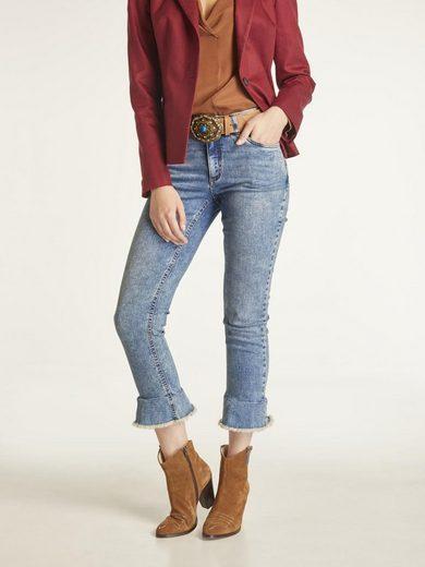 heine CASUAL Jeans Aleria mit Volant