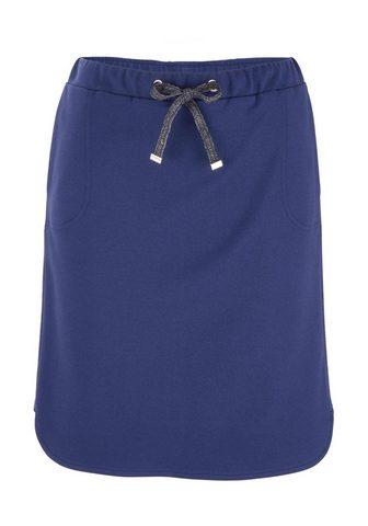 HEINE CASUAL юбка из angenehmer Jersey-Ware