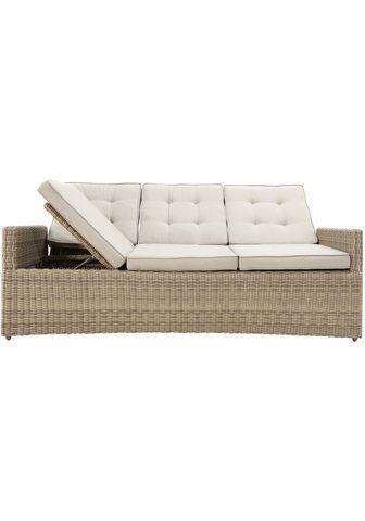 PLOSS Sodo sofa »Sahara« Polyrattan ir atram...