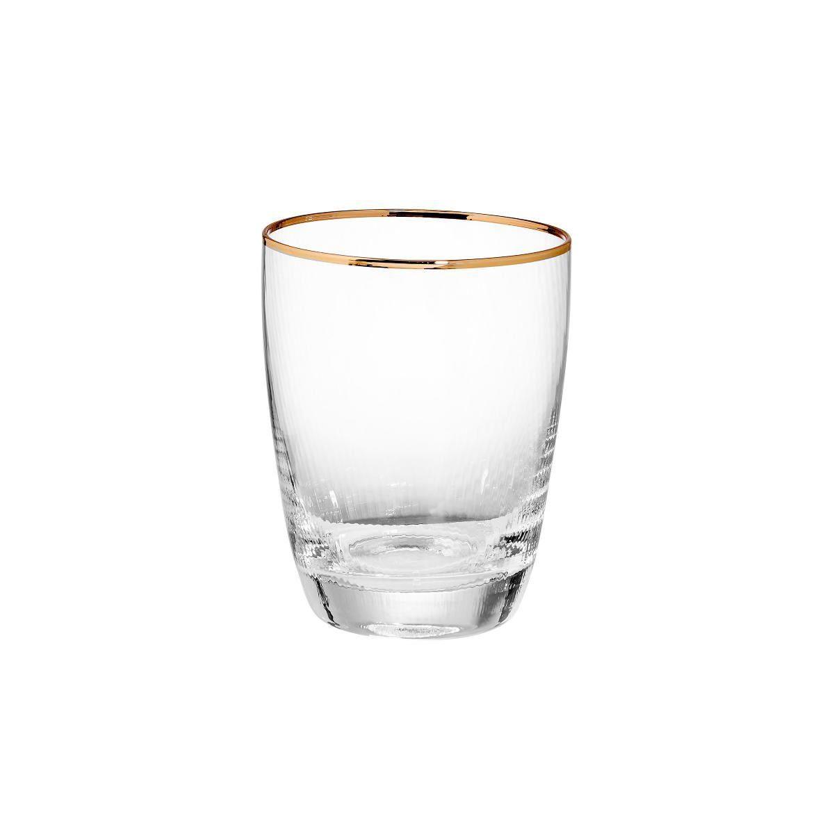 BUTLERS GOLDEN TWENTIES »Wasserglas mit Goldrand 300 ml«