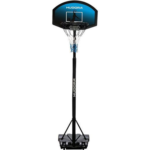 Hudora Basketballständer All Stars 165-205 cm, schwarz/blau