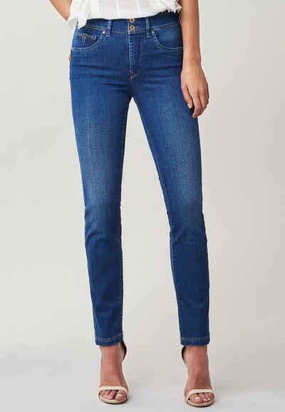Salsa Slim-fit-Jeans »Secret« Push In mit Details