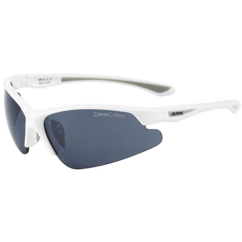 Alpina Sportbrille »Levitiy«, Kratzschutz,bruchsichere Scheiben,rutschsicherer Sitz