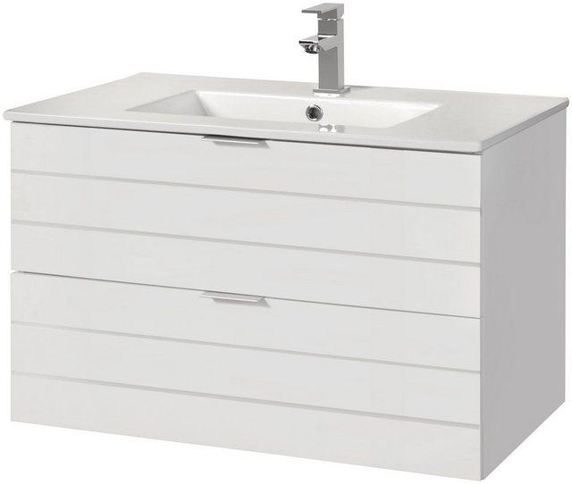 Waschtische - Waschtisch »Luzern«, Waschplatz, 80 cm breit, Bad Set 2 tlg.  - Onlineshop OTTO
