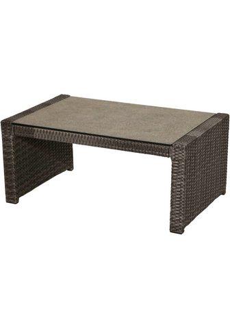 PLOSS Dėžė - stalas »Rocking« Polyrattan 97x...