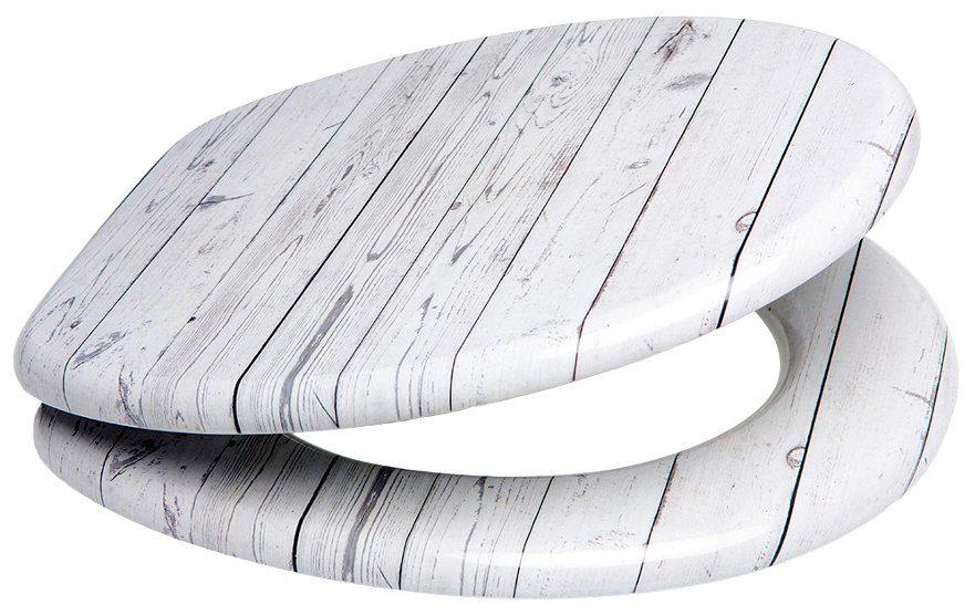 SANILO WC-Sitz »Timber«, mit Absenkautomatik