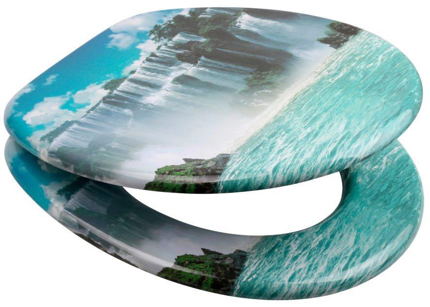 Relativ SANILO WC-Sitz »Wasserfall«, mit Absenkautomatik | OTTO BK96