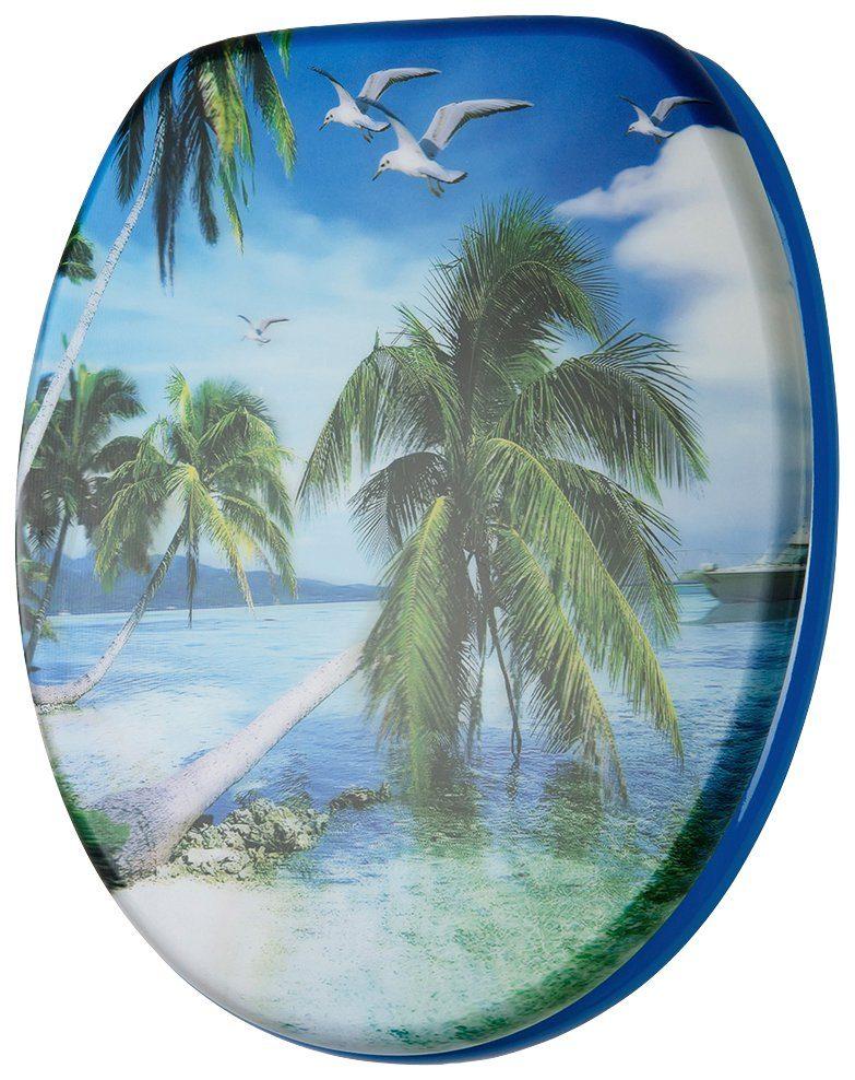 SANILO WC-Sitz »3D-Paradise«, mit Absenkautomatik