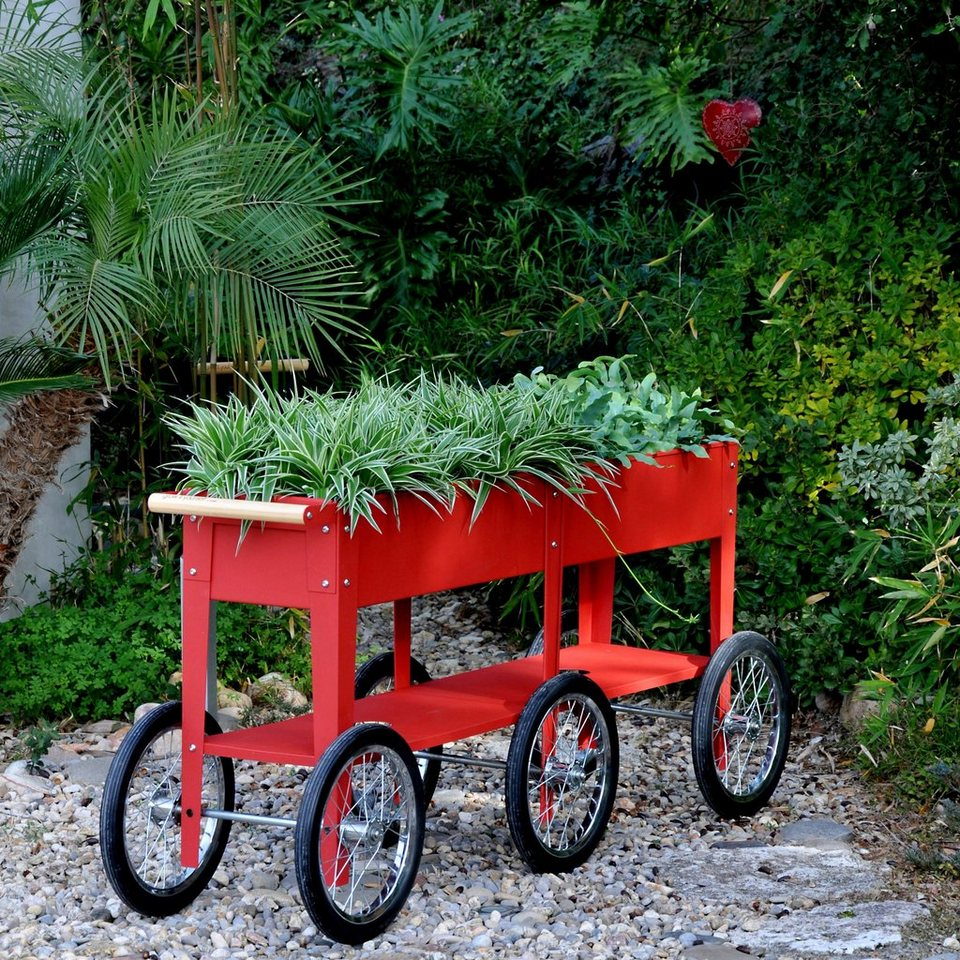 Herstera Garden Hochbeet Wheels Bxtxh 150x35x80 Cm Online Kaufen