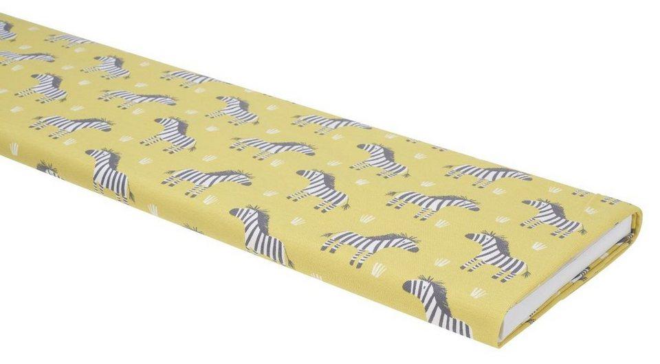 "Jersey-Stoff ""Zebra"" 150 cm breit (Meterware)"