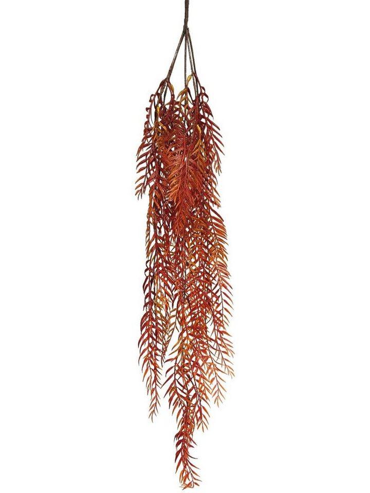 "Dekoast ""Farn-Girlande Herbstrot"" 90 cm lang"