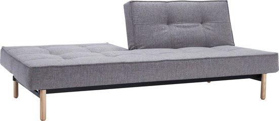 INNOVATION™ Schlafsofa »Splitback«, mit Stem Beinen, in skandinavischen Design