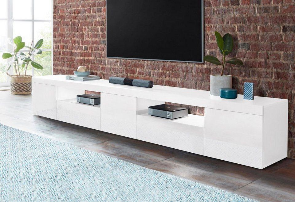 tecnos lowboard slot breite 240 cm kaufen otto. Black Bedroom Furniture Sets. Home Design Ideas