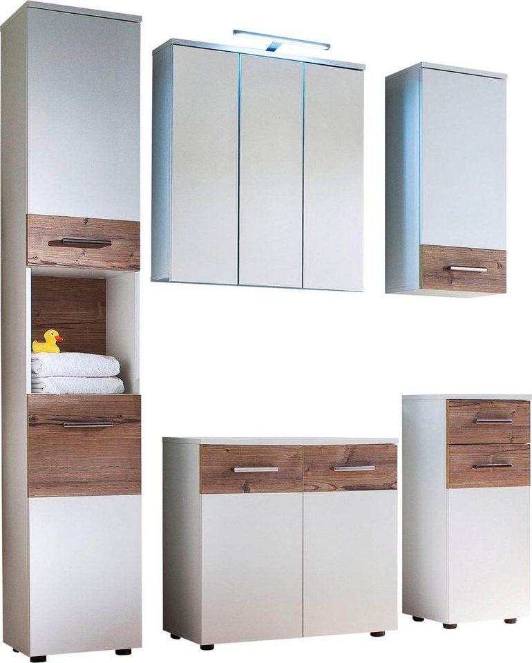 trendteam badm bel set summer 5 tlg kaufen otto. Black Bedroom Furniture Sets. Home Design Ideas